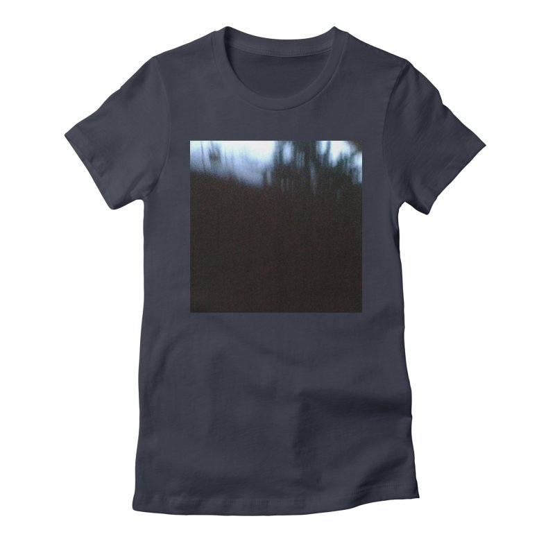 Slow Fire Women's Fitted T-Shirt by Unspeakable Records' Artist Shop