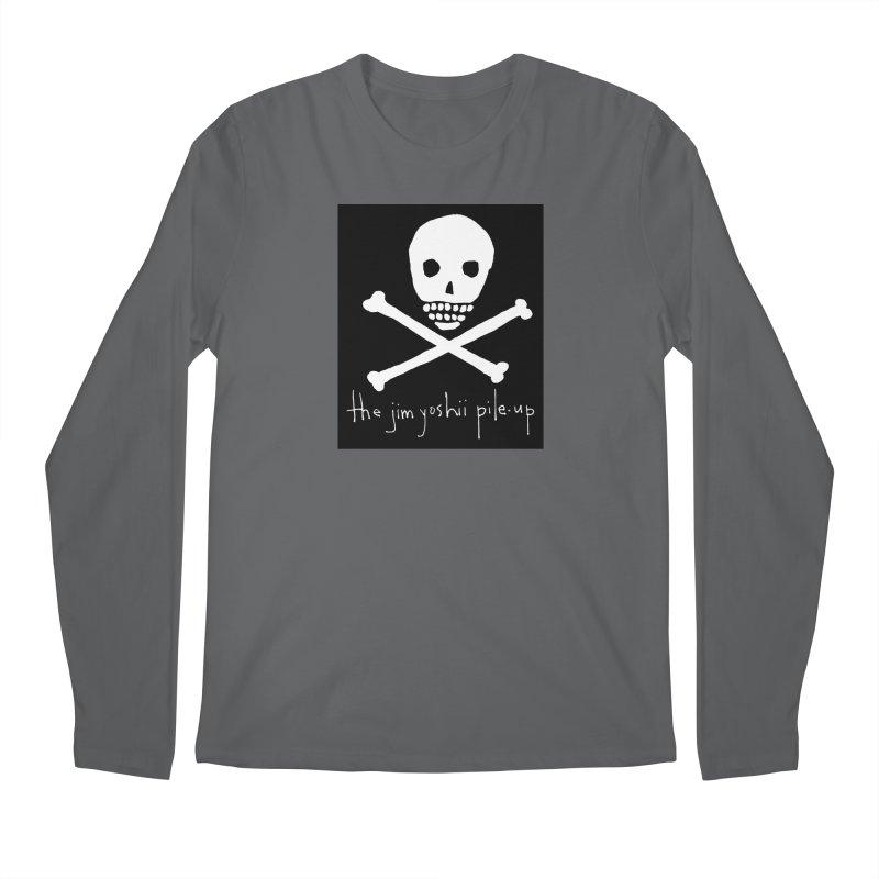 JYPU classic skull Men's Longsleeve T-Shirt by Unspeakable Records' Artist Shop