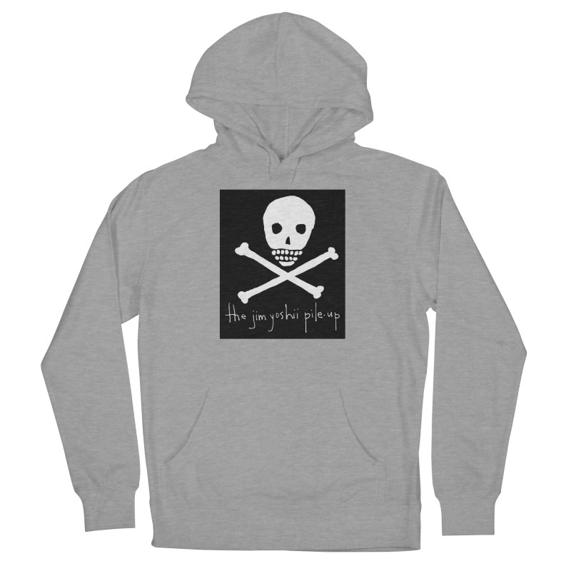 JYPU classic skull Men's French Terry Pullover Hoody by Unspeakable Records' Artist Shop
