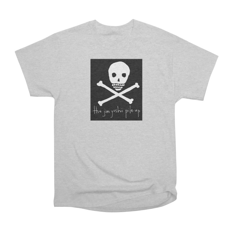 JYPU classic skull Women's Heavyweight Unisex T-Shirt by Unspeakable Records' Artist Shop