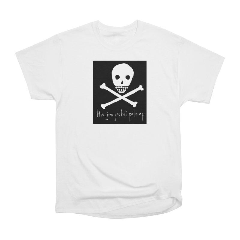 JYPU classic skull Women's Heavyweight Unisex T-Shirt by Unspeakable Records' Artist Shop