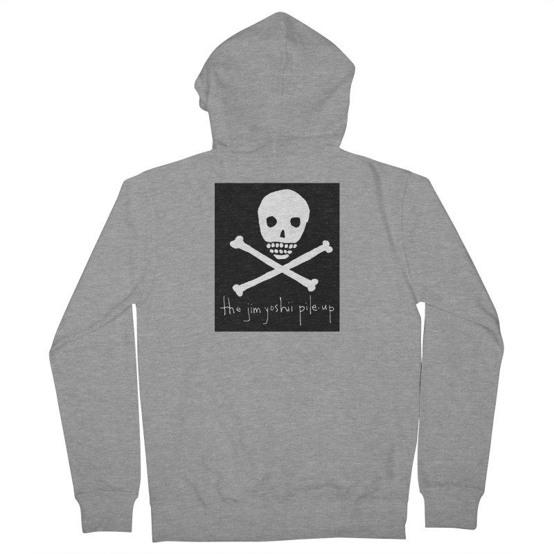 JYPU classic skull Men's Zip-Up Hoody by Unspeakable Records' Artist Shop