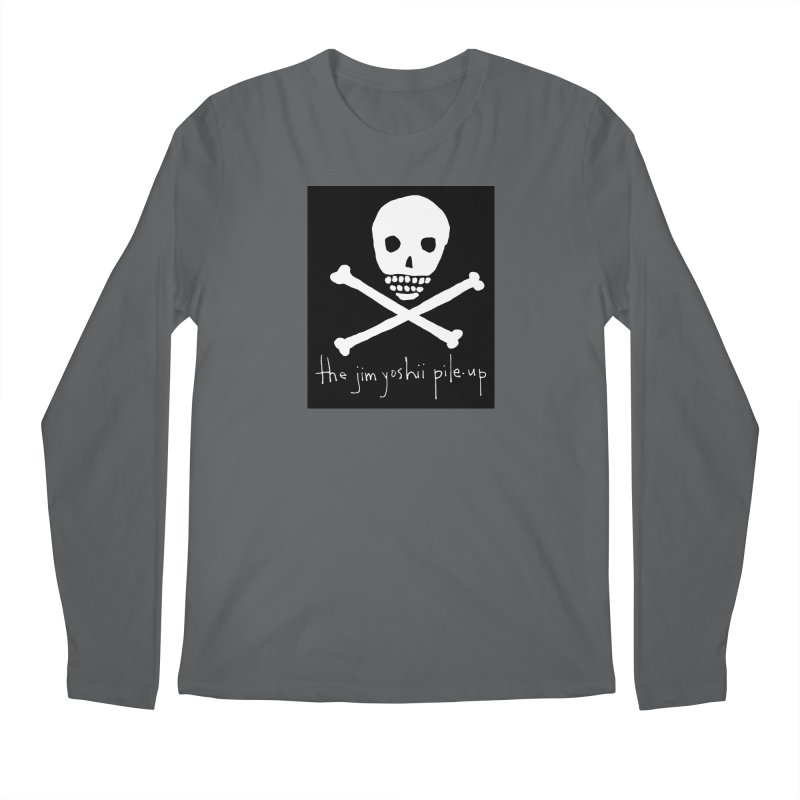 JYPU classic skull Men's Longsleeve T-Shirt by Unspeakable Records' Artist Shop