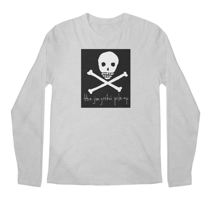 JYPU classic skull Men's Regular Longsleeve T-Shirt by Unspeakable Records' Artist Shop