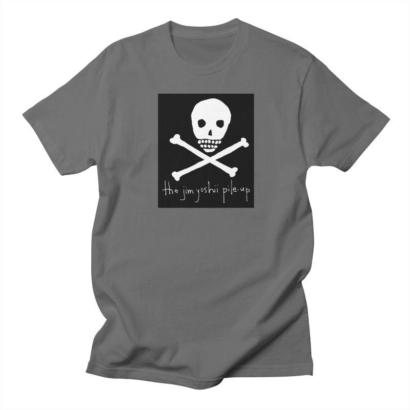 JYPU classic skull Men's Regular T-Shirt by Unspeakable Records' Artist Shop