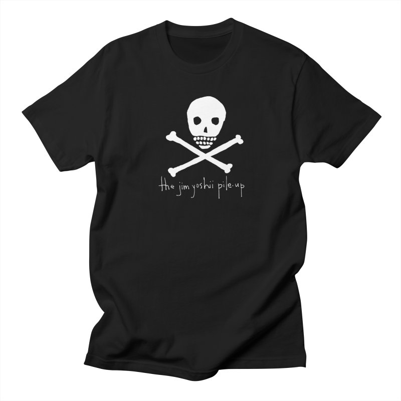 JYPU classic skull Men's Regular T-Shirt by Unspeakable Records' Artist Shop