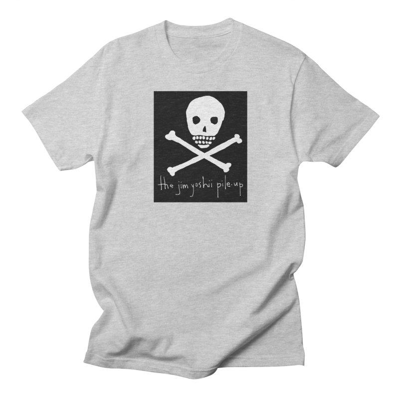 JYPU classic skull Men's T-Shirt by Unspeakable Records' Artist Shop