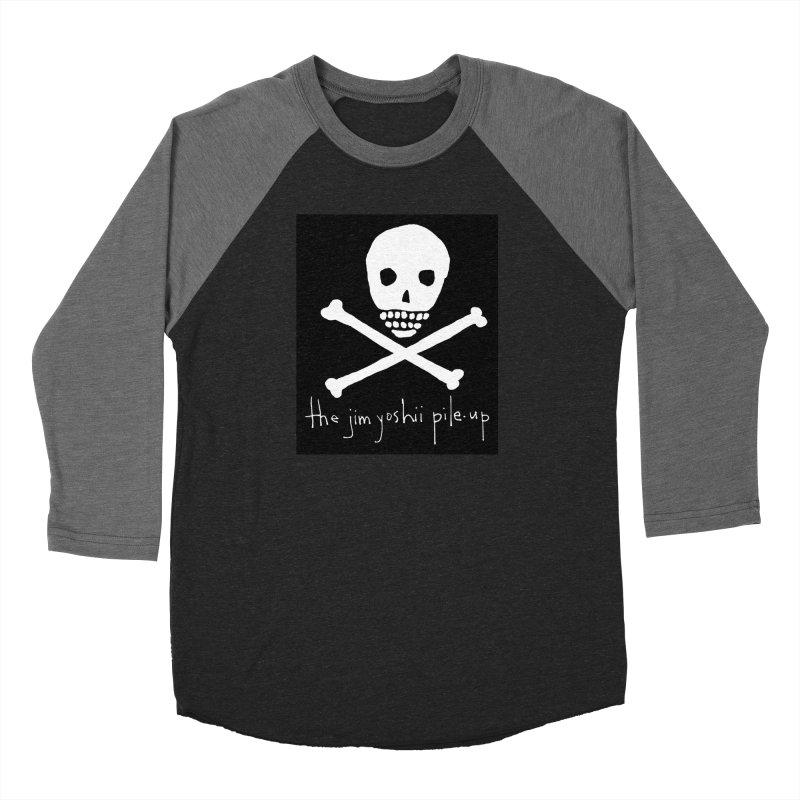 JYPU classic skull Women's Baseball Triblend Longsleeve T-Shirt by Unspeakable Records' Artist Shop