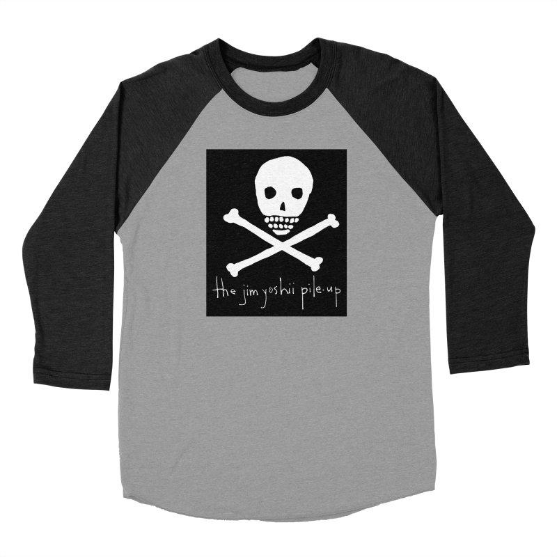 JYPU classic skull Women's Baseball Triblend T-Shirt by Unspeakable Records' Artist Shop