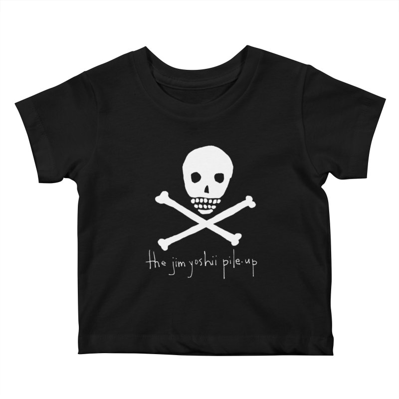 JYPU classic skull Kids Baby T-Shirt by Unspeakable Records' Artist Shop