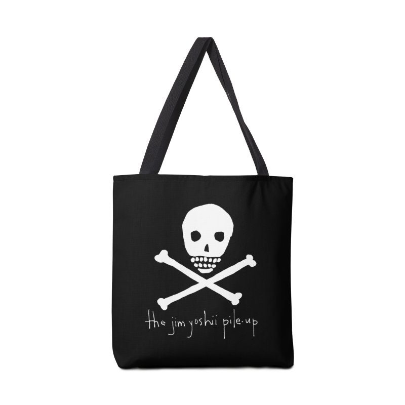 JYPU classic skull Accessories Tote Bag Bag by Unspeakable Records' Artist Shop