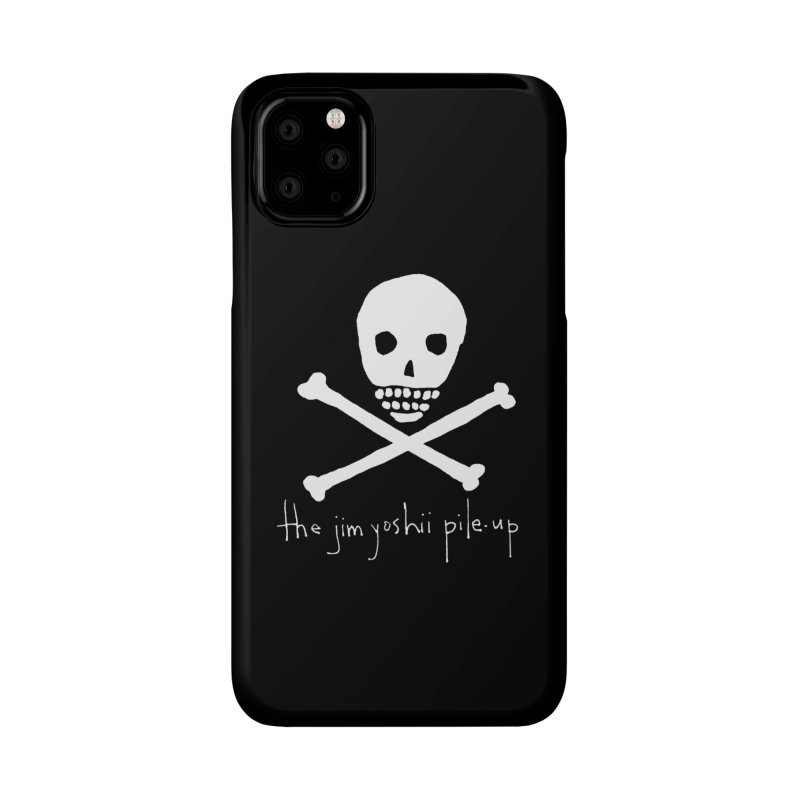JYPU classic skull Accessories Phone Case by Unspeakable Records' Artist Shop