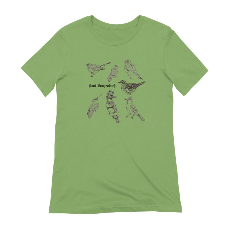 Bird Menagerie Women's Extra Soft T-Shirt by Unspeakable Records' Artist Shop