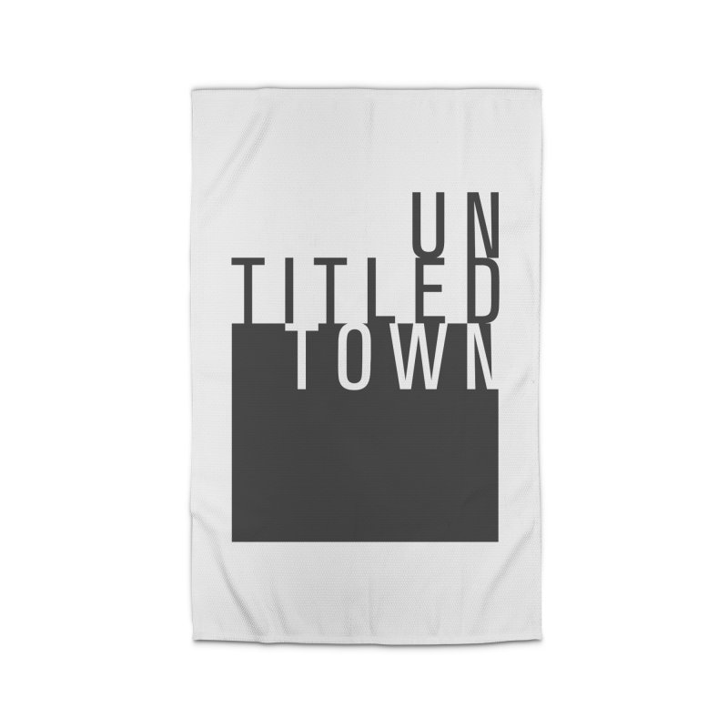 Un/Titled/Town Black +Transparent letters Home Rug by UntitledTown Store