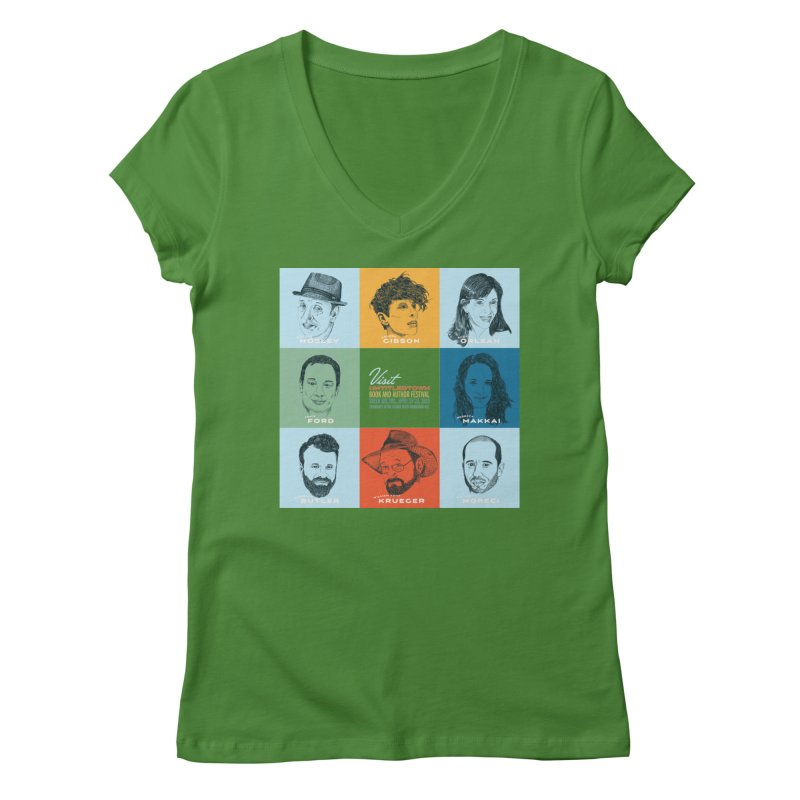 The UntitledTown Bunch 2019 Women's Regular V-Neck by UntitledTown Store
