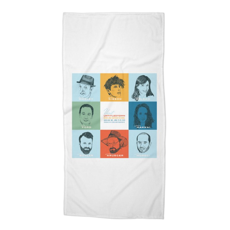 The UntitledTown Bunch 2019 Accessories Beach Towel by UntitledTown Store