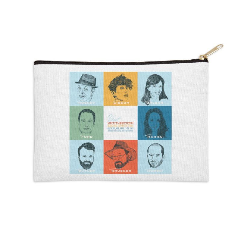 The UntitledTown Bunch 2019 Accessories Zip Pouch by UntitledTown Store