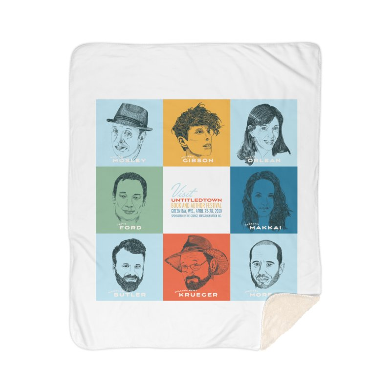 The UntitledTown Bunch 2019 Home Sherpa Blanket Blanket by UntitledTown Store