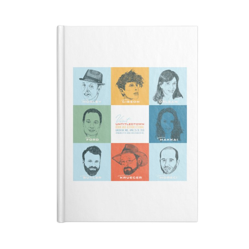 The UntitledTown Bunch 2019 Accessories Blank Journal Notebook by UntitledTown Store