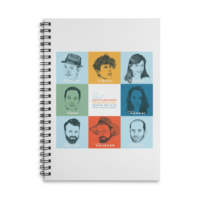 The UntitledTown Bunch 2019 Accessories Lined Spiral Notebook by UntitledTown Store