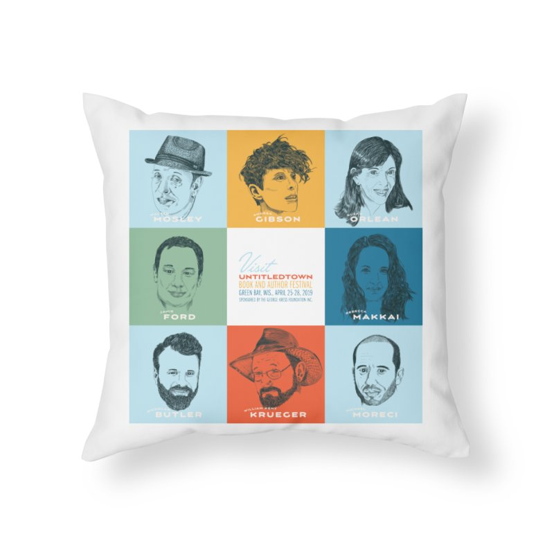 The UntitledTown Bunch 2019 Home Throw Pillow by UntitledTown Store