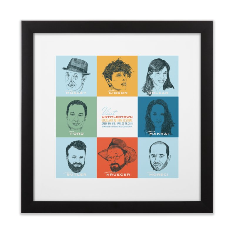 The UntitledTown Bunch 2019 Home Framed Fine Art Print by UntitledTown Store