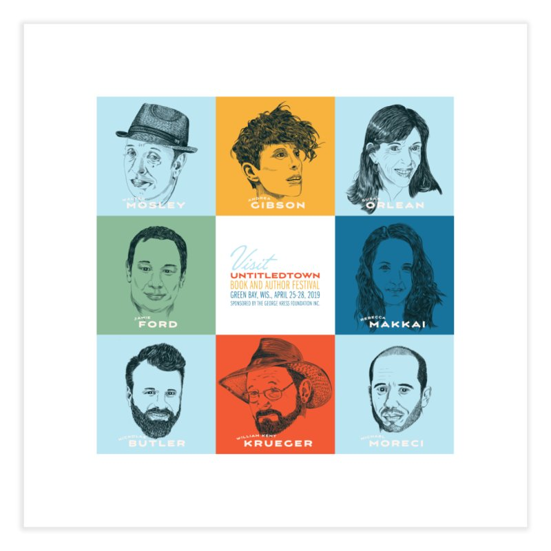 The UntitledTown Bunch 2019 Home Fine Art Print by UntitledTown Store