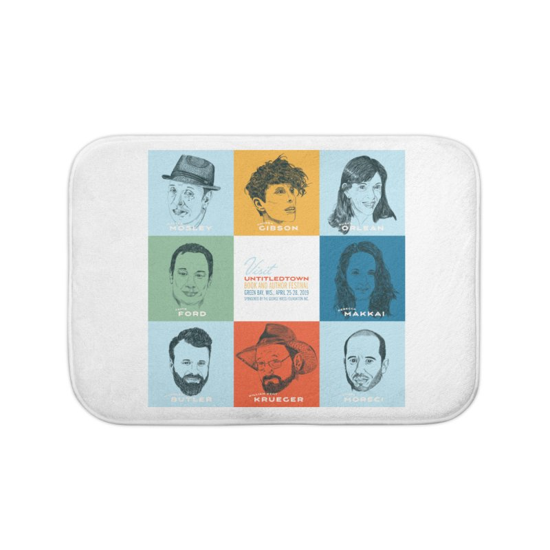 The UntitledTown Bunch 2019 Home Bath Mat by UntitledTown Store