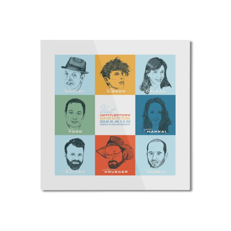 The UntitledTown Bunch 2019 Home Mounted Aluminum Print by UntitledTown Store