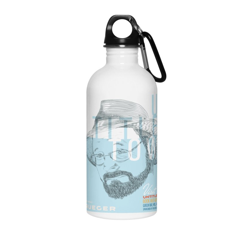 William Kent Krueger at UntitledTown Accessories Water Bottle by UntitledTown Store