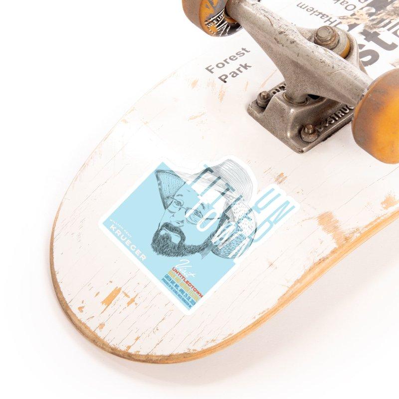 William Kent Krueger at UntitledTown Accessories Sticker by UntitledTown Store