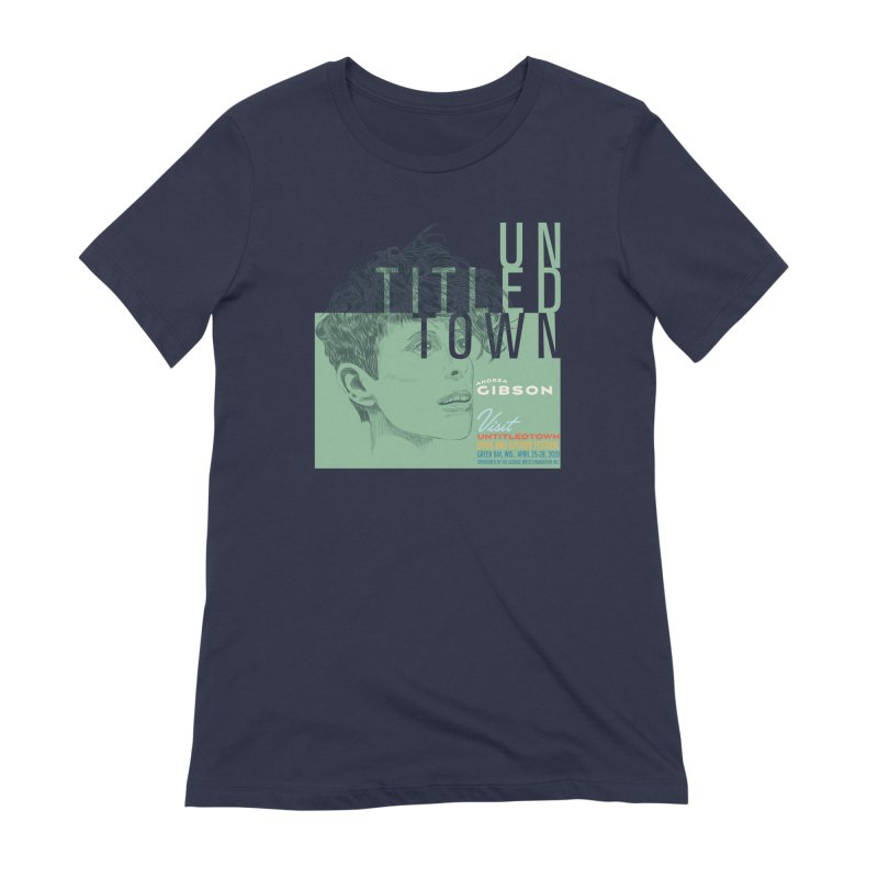 Andrea Gibson at UntitledTown Women's Extra Soft T-Shirt by UntitledTown Store