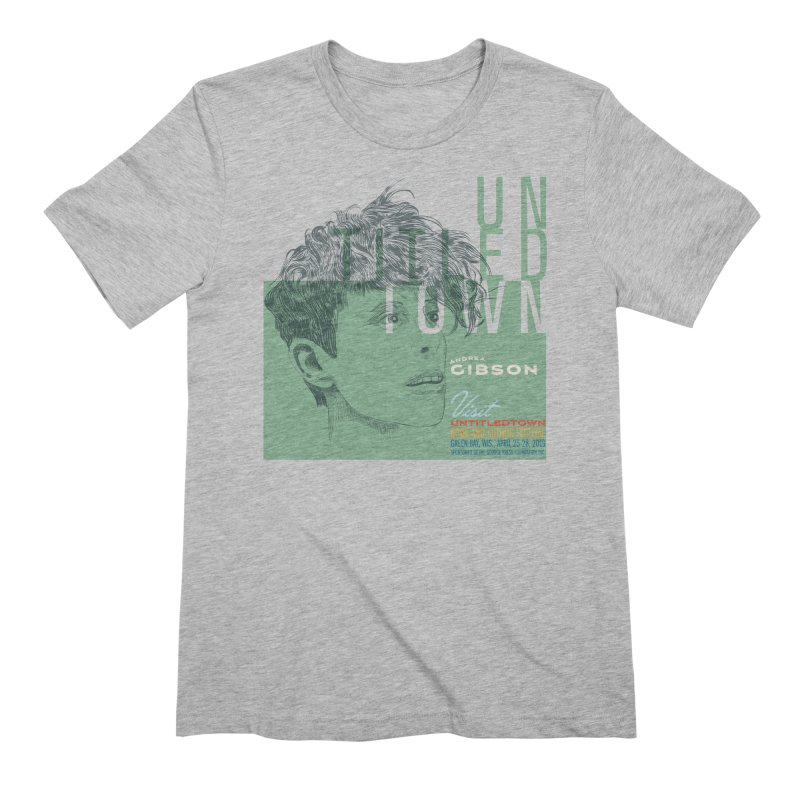 Andrea Gibson at UntitledTown Men's Extra Soft T-Shirt by UntitledTown Store