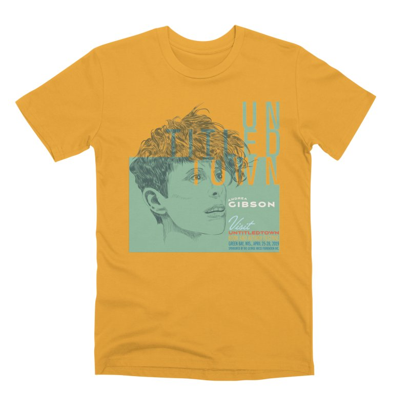 Andrea Gibson at UntitledTown Men's Premium T-Shirt by UntitledTown Store