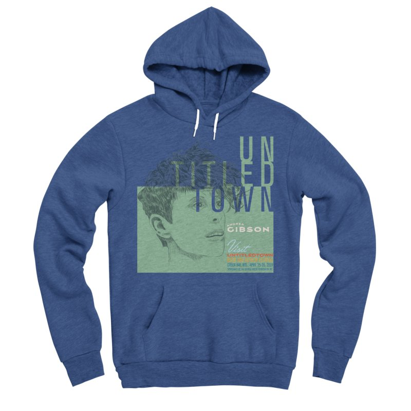 Andrea Gibson at UntitledTown Women's Sponge Fleece Pullover Hoody by UntitledTown Store