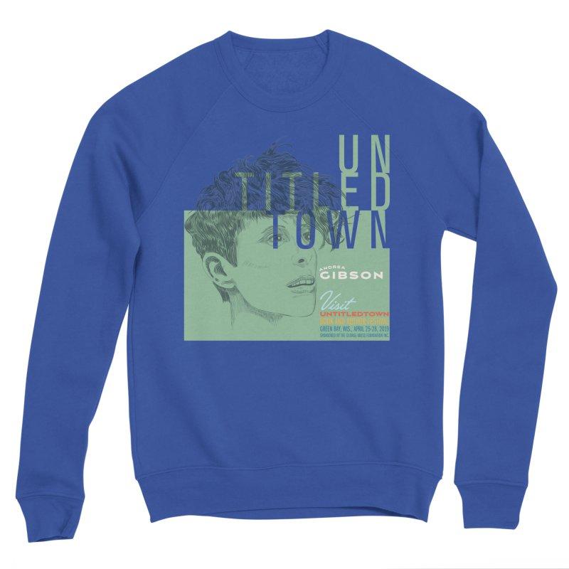 Andrea Gibson at UntitledTown Men's Sponge Fleece Sweatshirt by UntitledTown Store