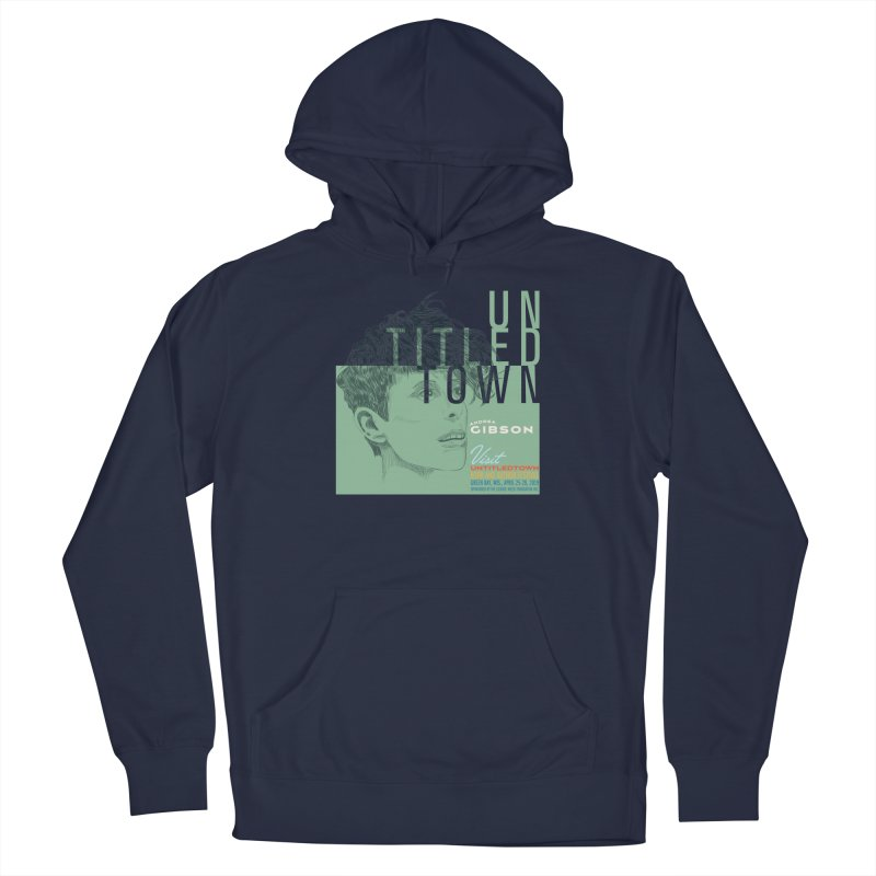 Andrea Gibson at UntitledTown Women's French Terry Pullover Hoody by UntitledTown Store