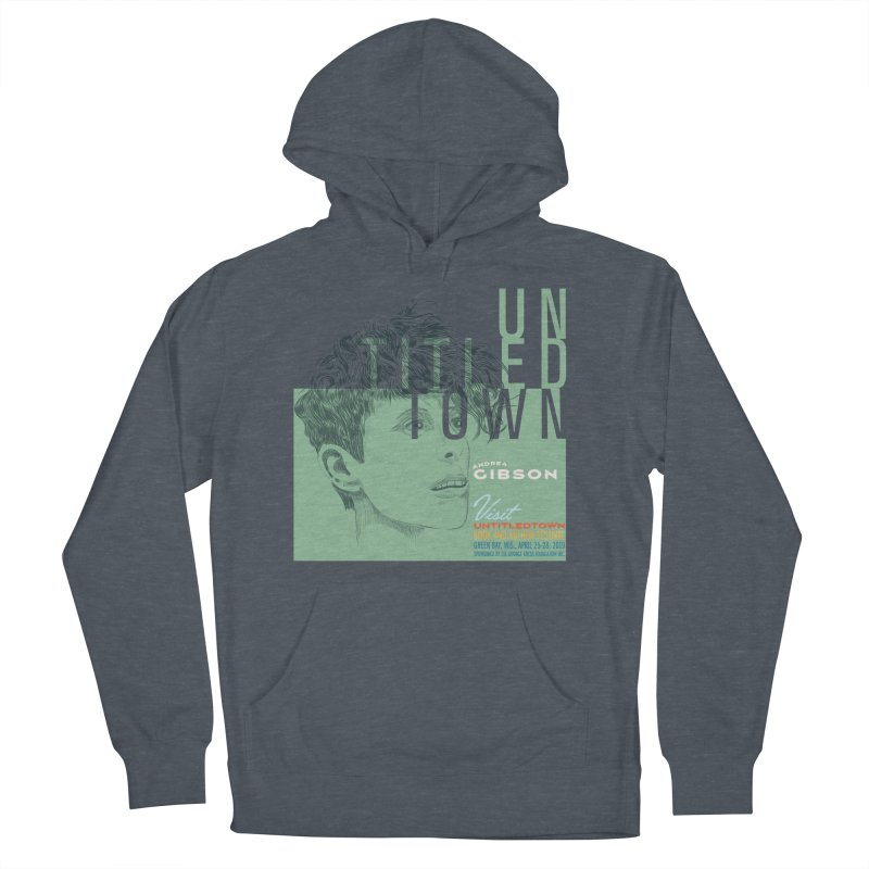 Andrea Gibson at UntitledTown Men's French Terry Pullover Hoody by UntitledTown Store