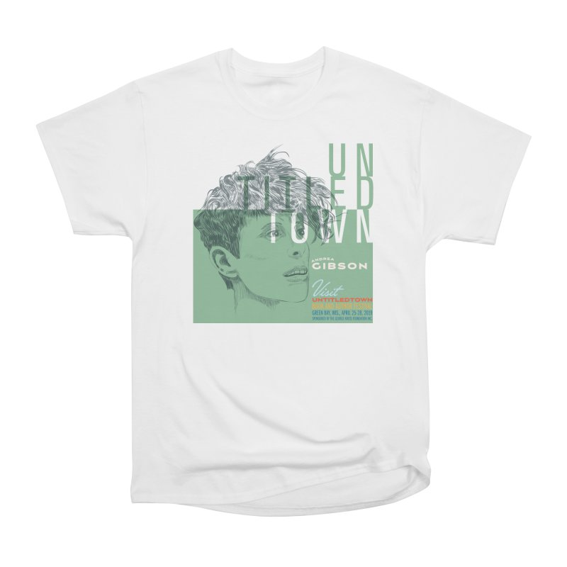 Andrea Gibson at UntitledTown Men's Heavyweight T-Shirt by UntitledTown Store
