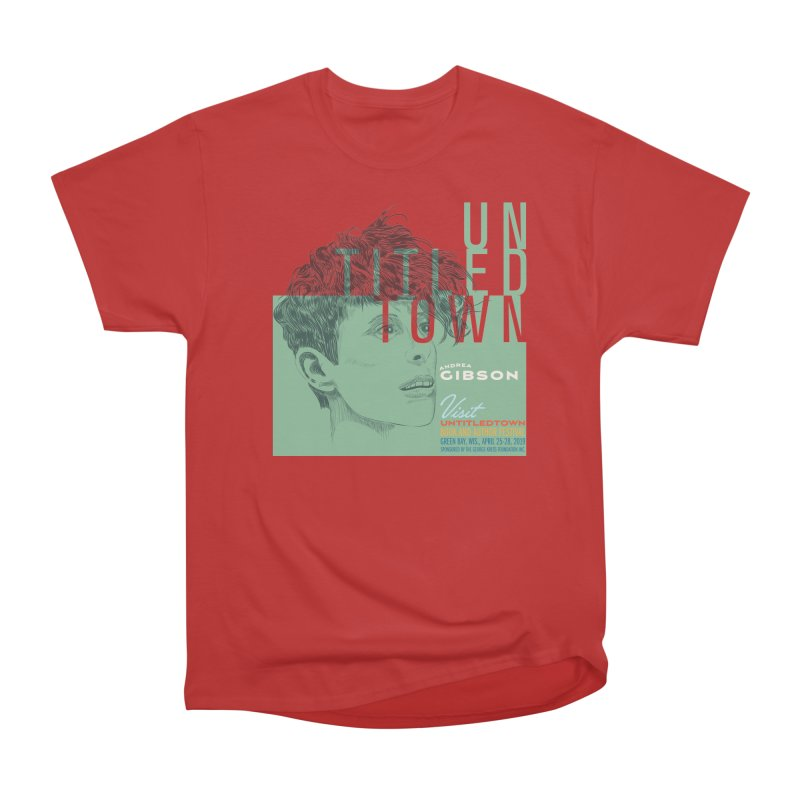 Andrea Gibson at UntitledTown Women's Heavyweight Unisex T-Shirt by UntitledTown Store