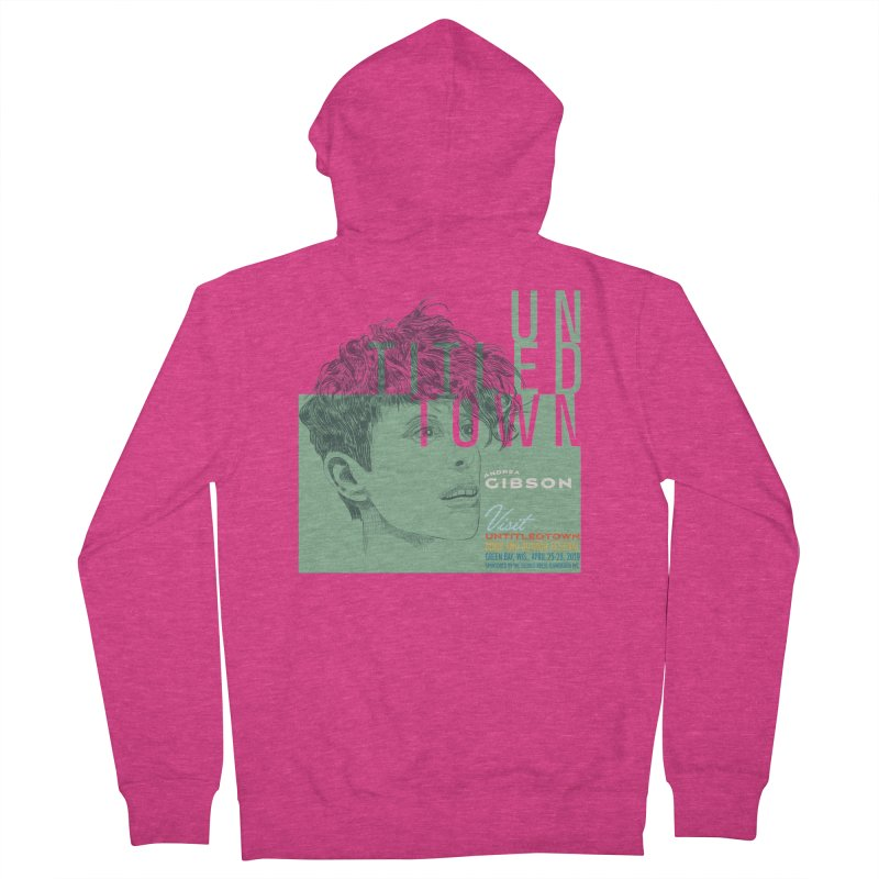 Andrea Gibson at UntitledTown Women's French Terry Zip-Up Hoody by UntitledTown Store