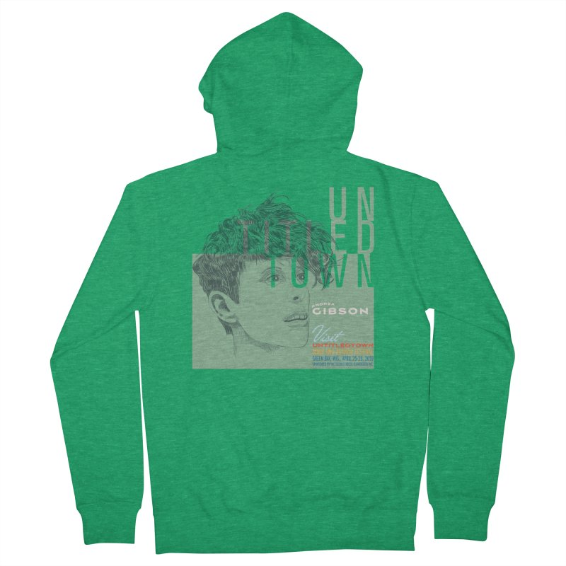 Andrea Gibson at UntitledTown Men's French Terry Zip-Up Hoody by UntitledTown Store