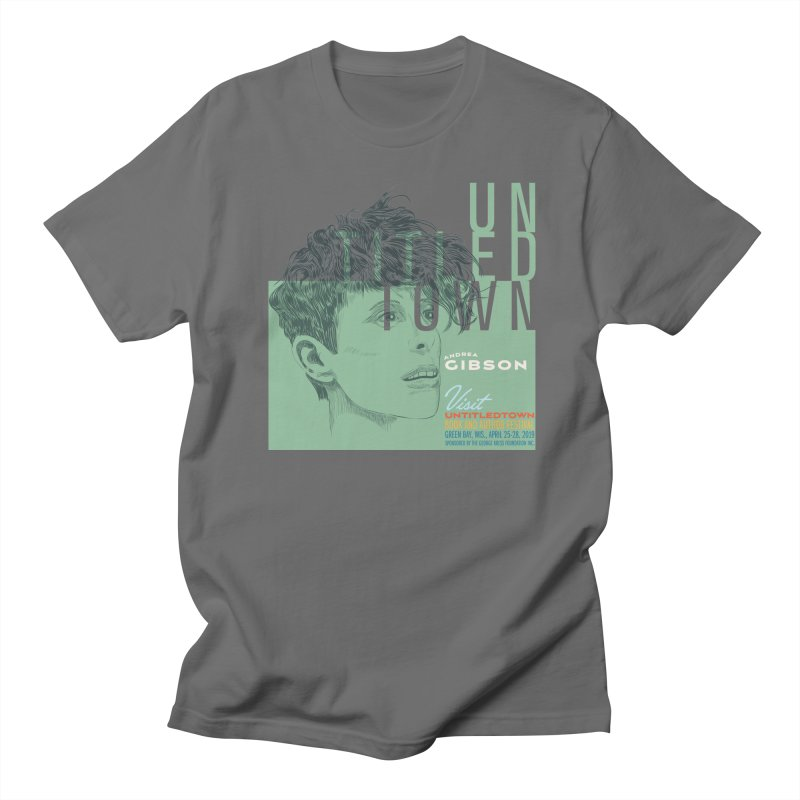 Andrea Gibson at UntitledTown Men's T-Shirt by UntitledTown Store