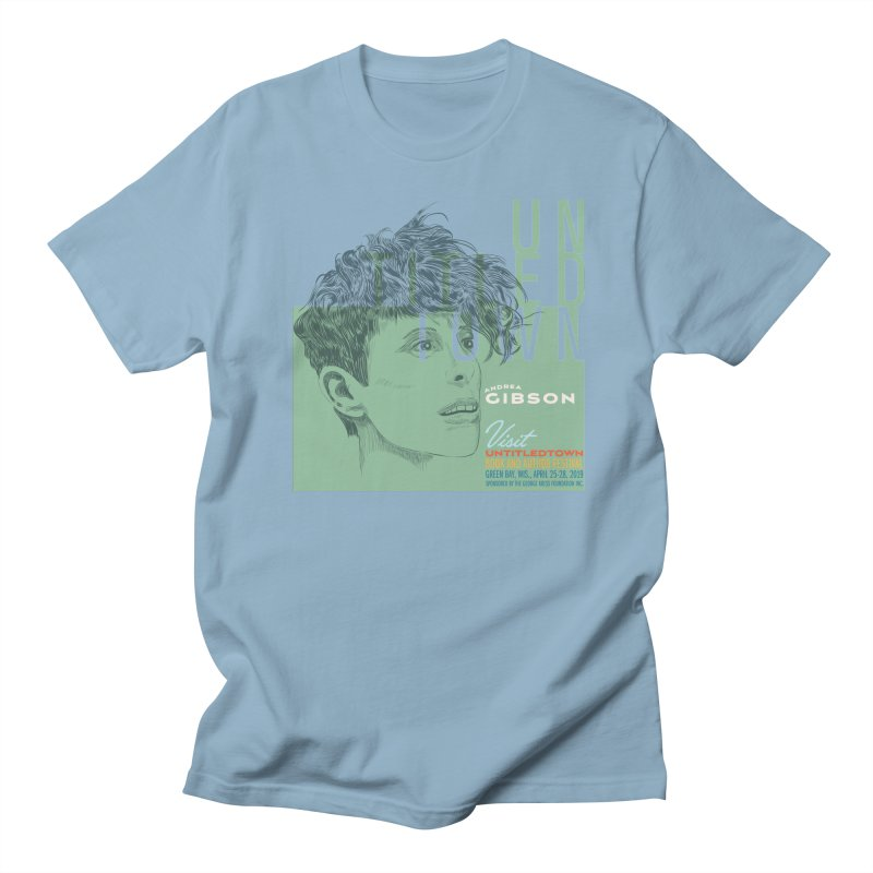Andrea Gibson at UntitledTown Men's Regular T-Shirt by UntitledTown Store