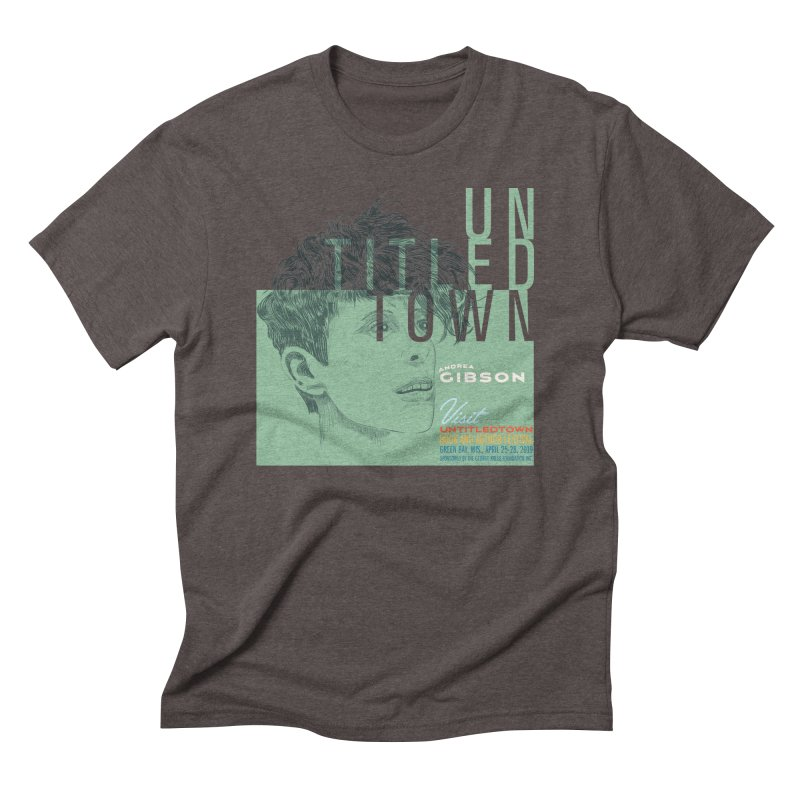 Andrea Gibson at UntitledTown Men's Triblend T-Shirt by UntitledTown Store