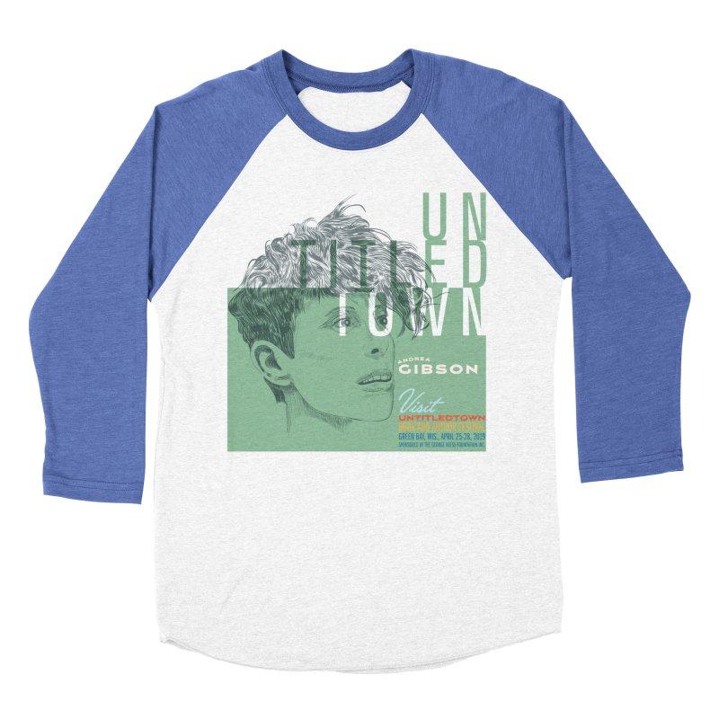 Andrea Gibson at UntitledTown Women's Baseball Triblend Longsleeve T-Shirt by UntitledTown Store