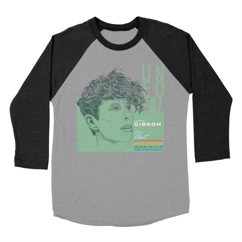 Andrea Gibson at UntitledTown Men's Baseball Triblend Longsleeve T-Shirt by UntitledTown Store