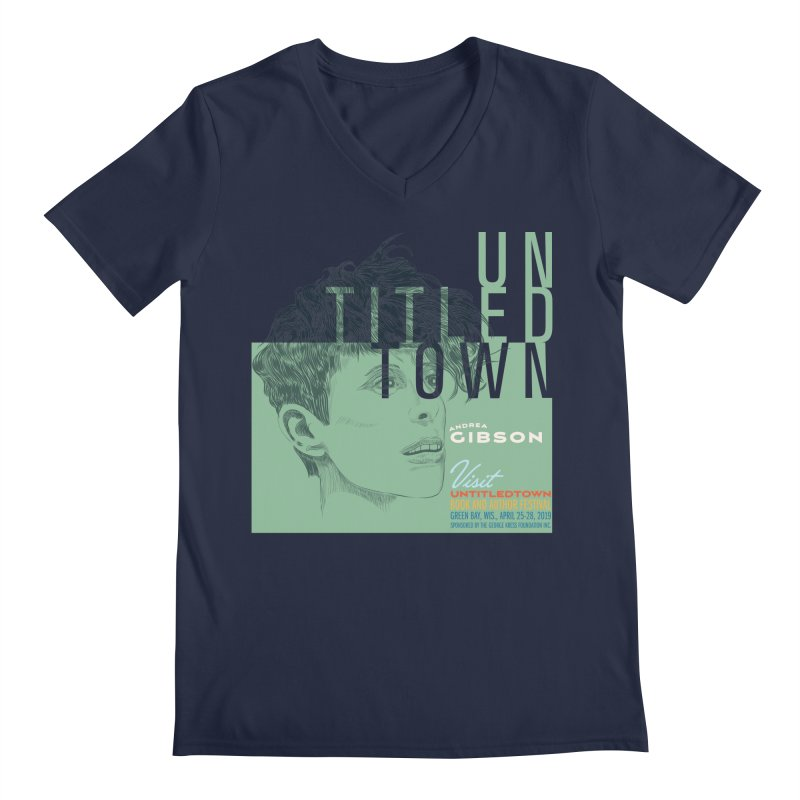 Andrea Gibson at UntitledTown Men's Regular V-Neck by UntitledTown Store