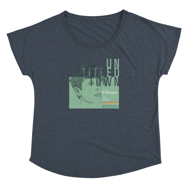 Andrea Gibson at UntitledTown Women's Dolman Scoop Neck by UntitledTown Store