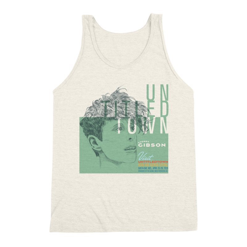 Andrea Gibson at UntitledTown Men's Triblend Tank by UntitledTown Store